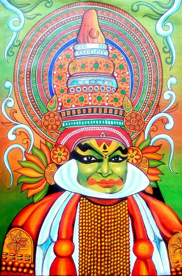 17 best images about saree paintings on pinterest buddha for Buddha mural paintings