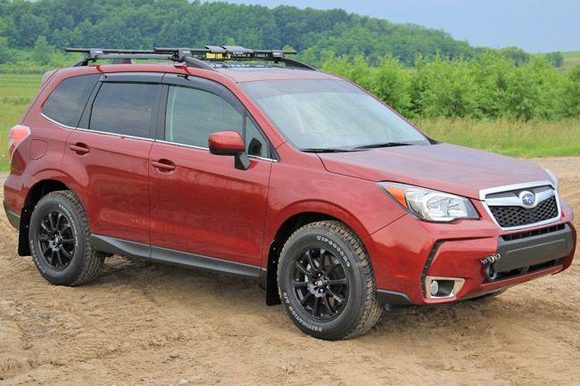 Lifted Subaru Forester >> 2014+ Subaru Forester Grey Logo, Rally Armor | Subaru ...