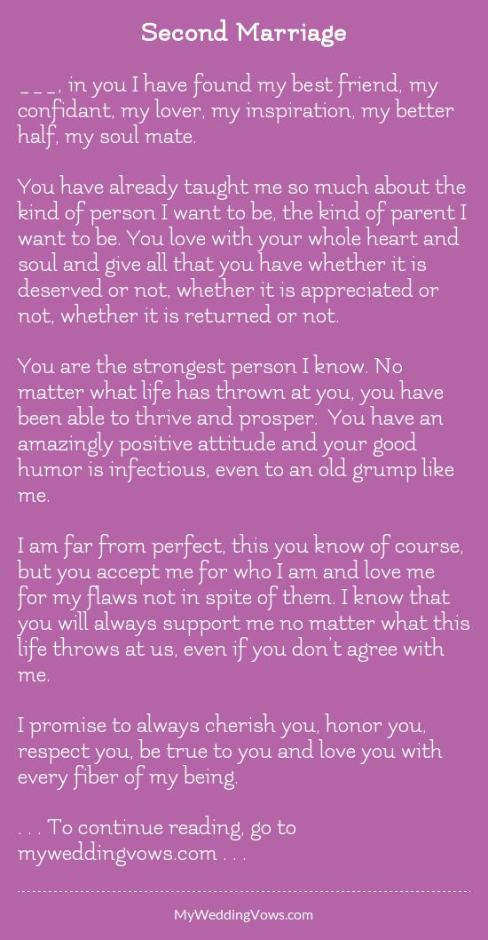 Do you like these vows? - hearted by myweddingvows.com ♥
