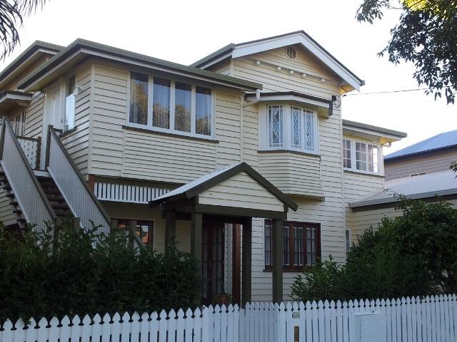 A Queenslander home in Brisbane suburb