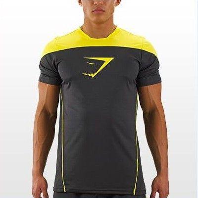 Professional Gymshark Men Tank Titan Stringer Tops