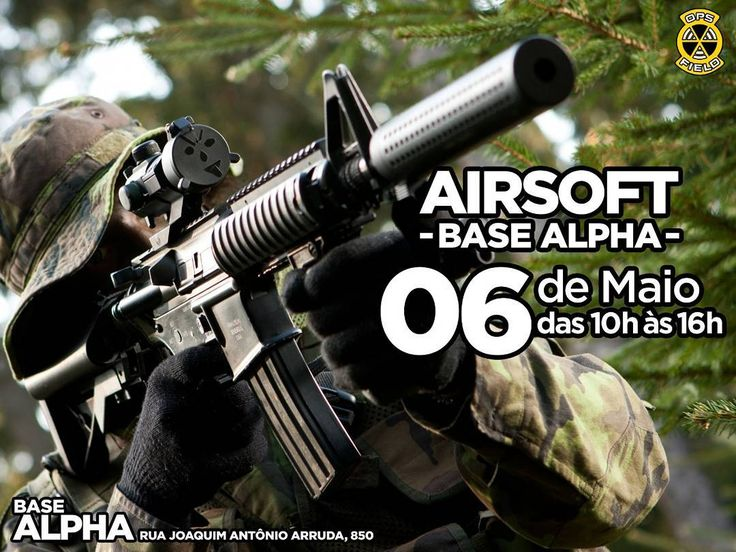 Bora pra Alpha?  #airsoft #airsoftinternational #airsoftbrasil #airsoftsports #ares #hk #g36 #m4 #honeybadger  #cybergun #m1014 #benelli #fnherstal #p90 #echo1usa #remington700 #m28 #classicarmyusa #springfield #m14 #mk14 #army #kimber #r28 #m1911 #pistol #shotgun #rifle #dmr #sniper