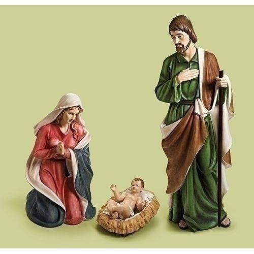 """60"""" Scale Color Holy Family Set (61.5"""")"""
