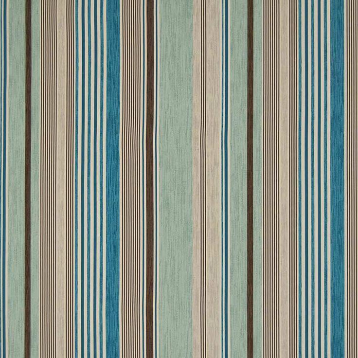 Warwick Fabrics : POLLY, Colour BLUE MOON