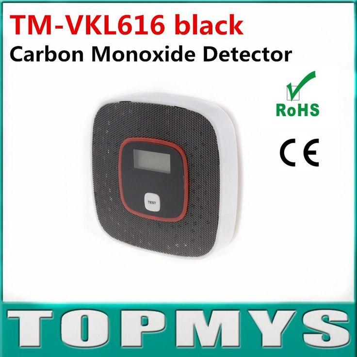 Smoke Detecter Carbon Monoxide Detector Fire Alarm Monitor Co Sensor Tester W/ Lcd Home Security Co Detector Alarm TmVkl616