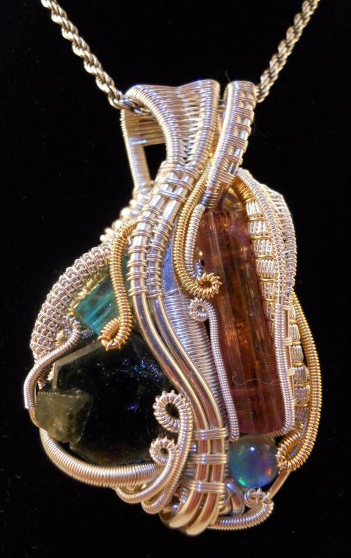 Harju Design: Custom Wire wrapped Jewelry - Up Front