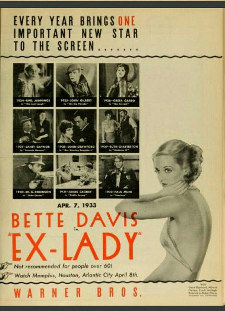 Bette Davis 1933