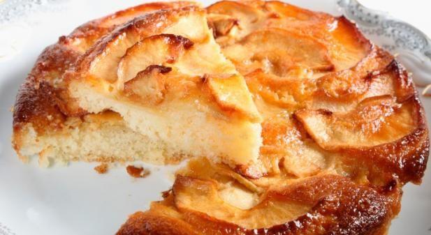 Laissez-vous tenter par ce délicieux gâteau allégé aux pommes !