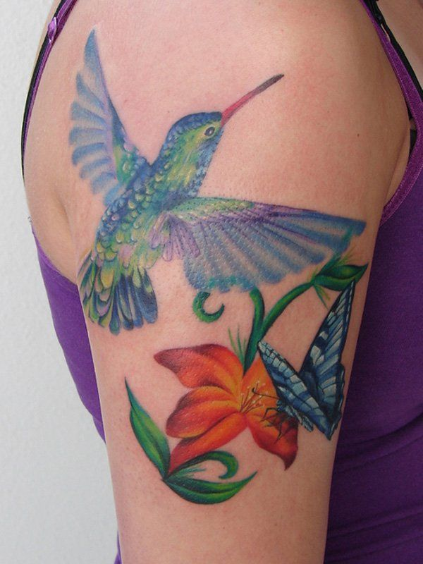 38 hummingbird tattoo