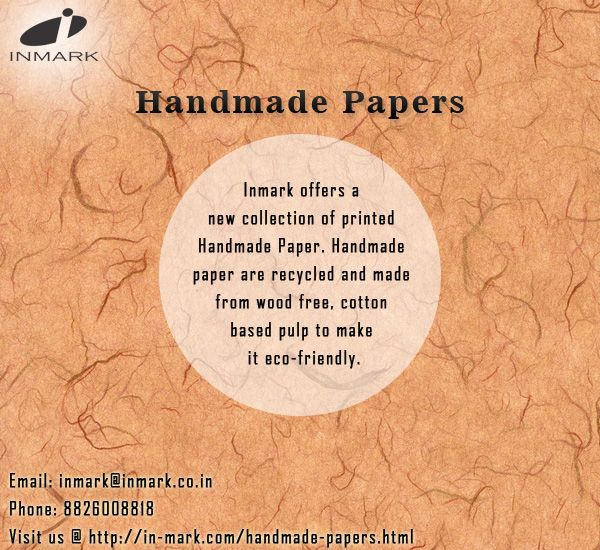 The author is here to be your best guide while choosing Handmade Papers. He has valid information on some online stores, offering these papers separately, as well as in designer items.