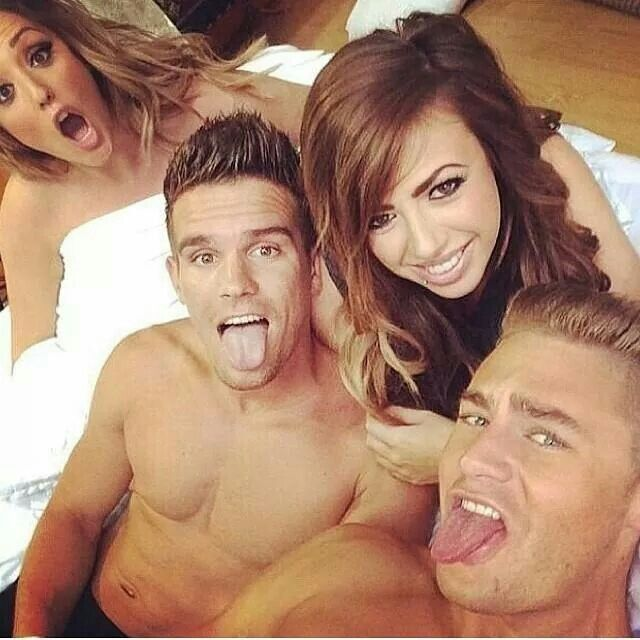charlotte,holly,scotty n gaz