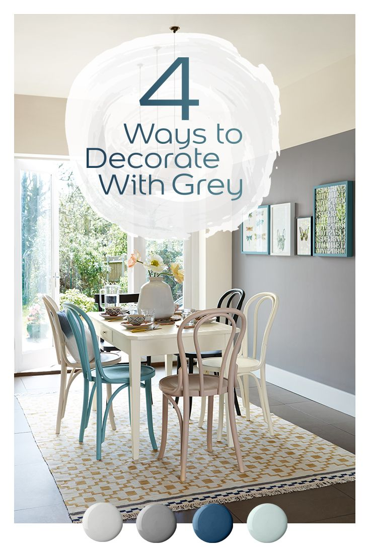 Think grey equals drab? Think again! Here are four reasons to use grey as your feature wall.