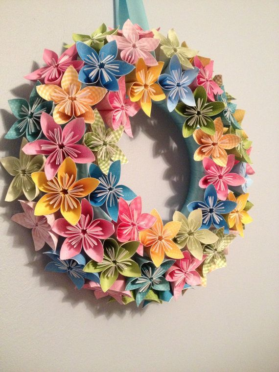 Spring Bloom Origami/Kusudama Paper Flower by kreationsbykia
