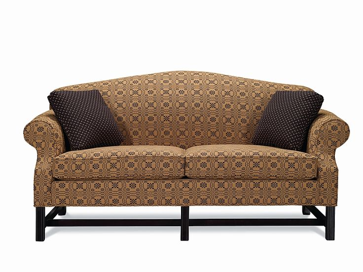 Camel Back Sofa Homespun Collection, Lancer Furniture