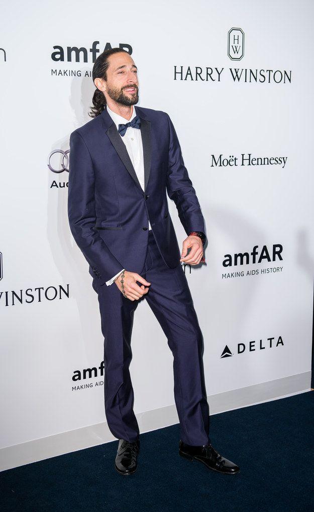 Adrien Brody At The AmfAR Hong Kong Gala