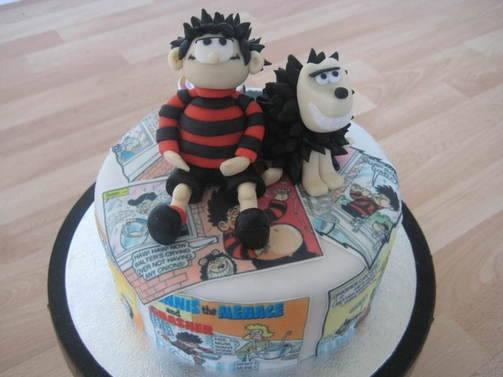 Dennis the Menace cake