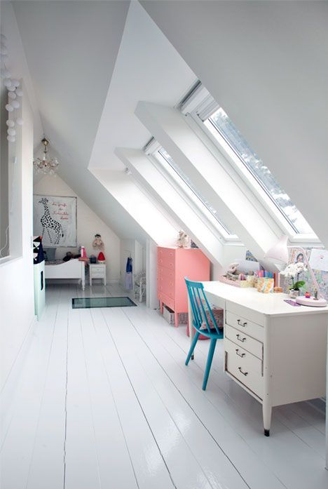 Have an attic space? Turn it into a cozy space for your kids! There are plenty ways to do that with style. We have lots of ideas showing how.