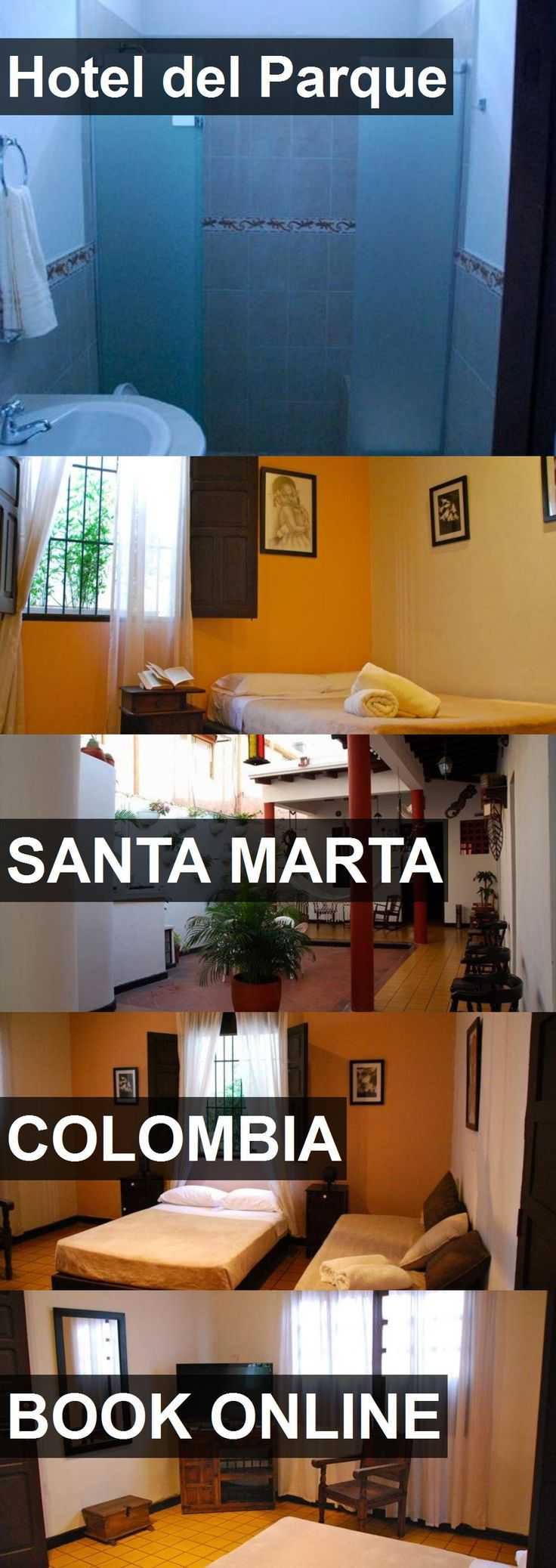 Hotel del Parque in Santa Marta, Colombia. For more information, photos, reviews and best prices please follow the link. #Colombia #SantaMarta #travel #vacation #hotel