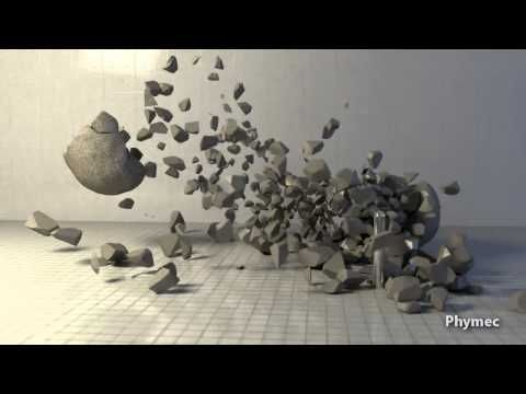 ▶ Voronoi Fracture and Shatter Lab Tests - Blender & Bullet Physics - YouTube