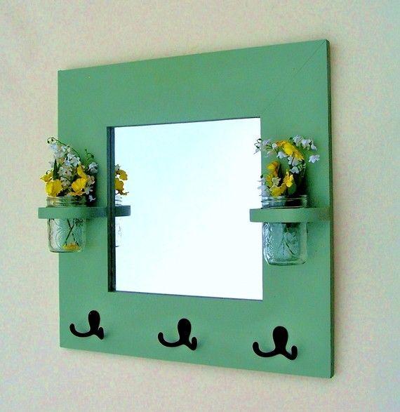 Espejo  perchero  Rack clave  Jar floreros  20 x por LegacyStudio, $54.95