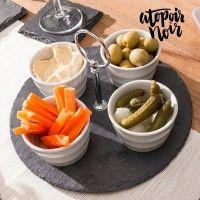 Appetizer sett av skifer, Atopoir Noir
