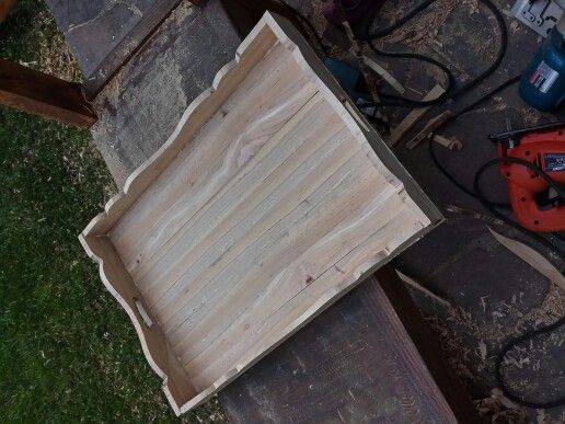 Bandeja en madera de Lingue