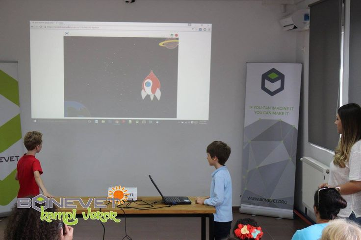 Join to the most wonderful BONEVET Summer Camp! #BONEVET #makerspace #summercamp #new #innovation #education #technology #project #challenge #scratch #programming #language #creative #teamwork #build #make #create #adventure #makersgonnamake #stem For detailed information you can visit: www.bonevet.org