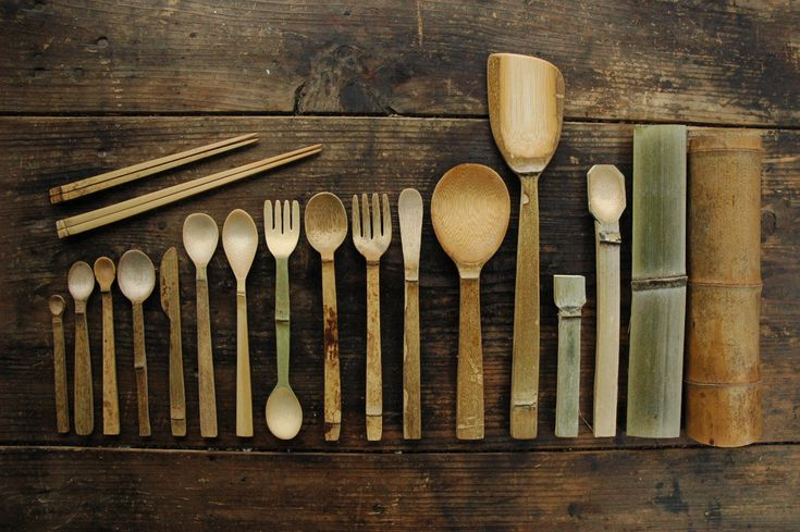 工房 竹と暮らす(沖原紗耶) 竹のカトラリー bamboo cutlery