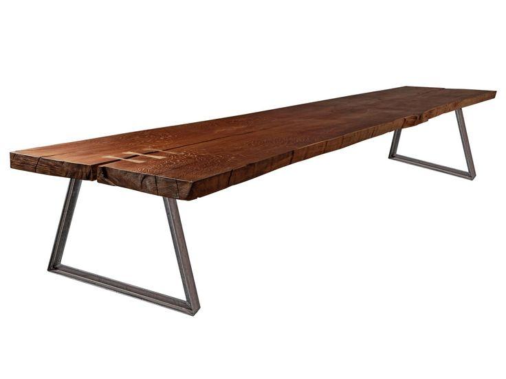Tavolo da pranzo in legno massello su misura MY BELLA MAISA - U LEG Collezione MY BELLA MAISA by Yask