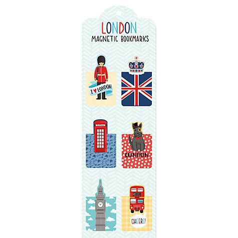 Buy London Magnetic Bookmarks Online at johnlewis.com