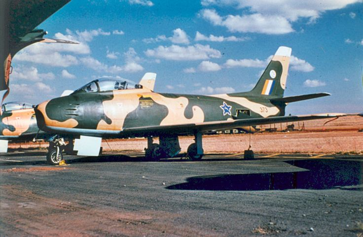 South African Air Force Sabre