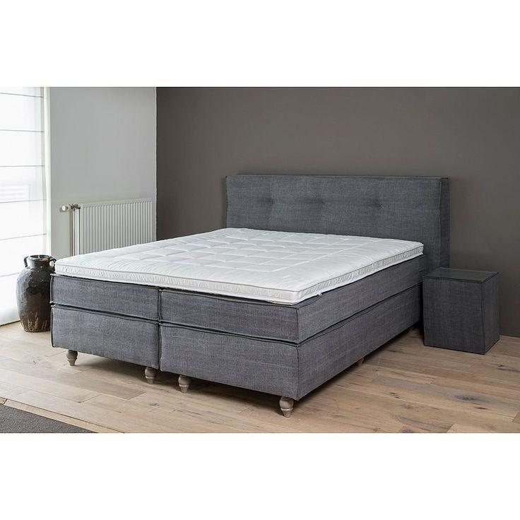 Quality of Sleep Eden Boxspringset Kiss Antraciet - 180x210 cm
