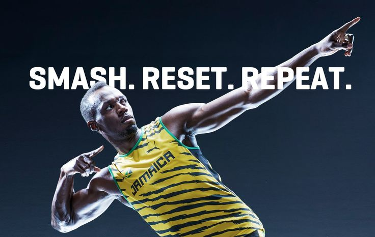 Usain Bolt. Love it.