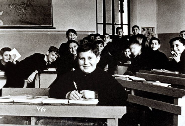 1951 - Gianfranco Ferré a scuola