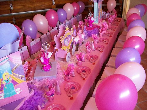 """Princess"" Party by Treasures and Tiaras Kids Parties, via Flickr"