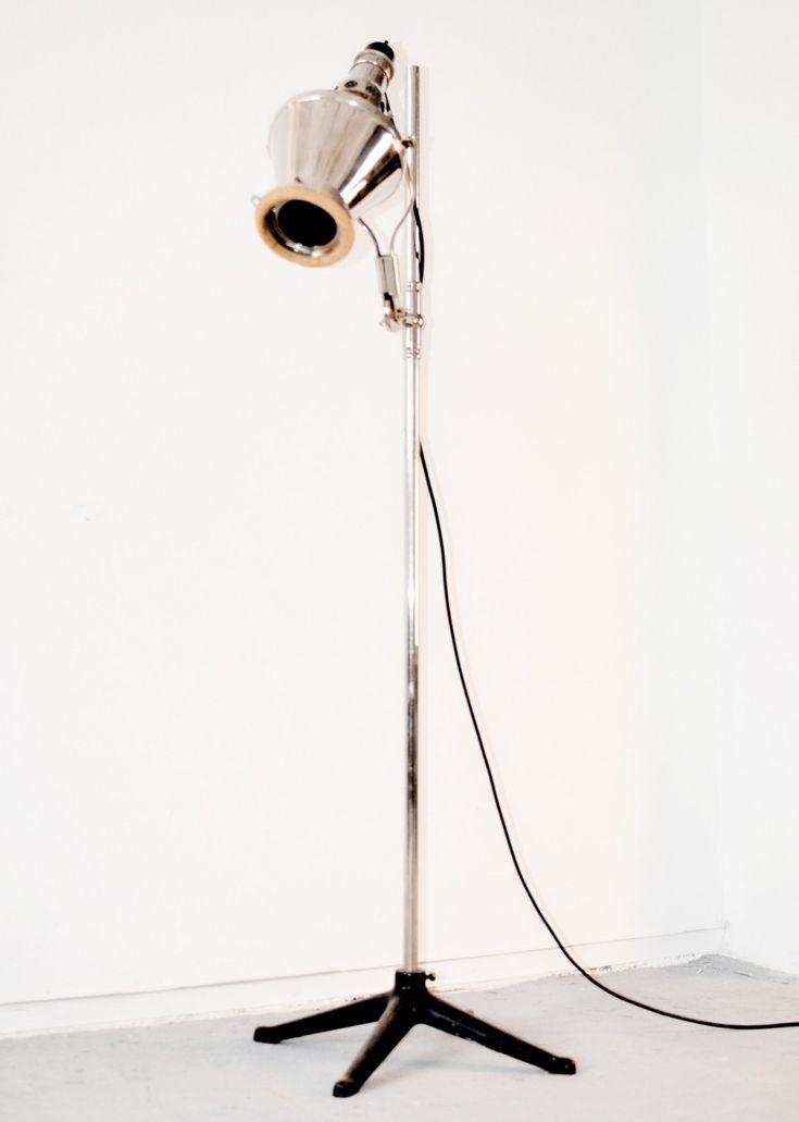 'Sollux' sun lamp by Quarzlampen GmbH, Hanau 1930s