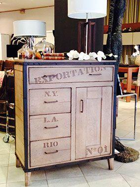 Novedades en muebles en zaragoza 2014 barbed - Mueble estilo industrial ...