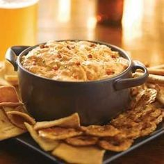Check out this great recipe from Franks RedHot: FRANK'S RedHot Buffalo Chicken Dip