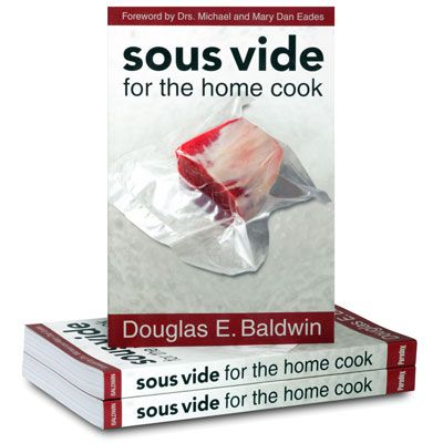 Everything you need to know about sous-vide cookery and more! Over 200 recipes, a learning by doing section and tables of time and temperature for meat and vegetable your like to come across. It does get a bit geeky ,but a really good resouce
