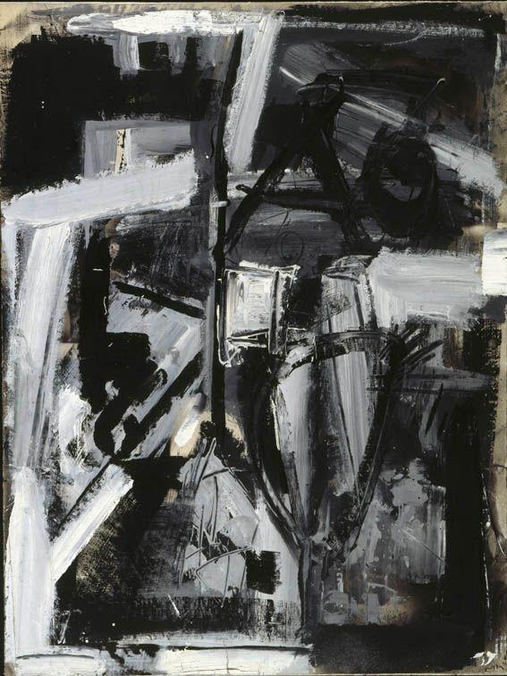 """Emilio Vedova - De America 77, 1977 - Mart, Deposito a lungo termine - """"La Magnifica Ossessione"""" www.mart.tn.it/magnificaossessione"""