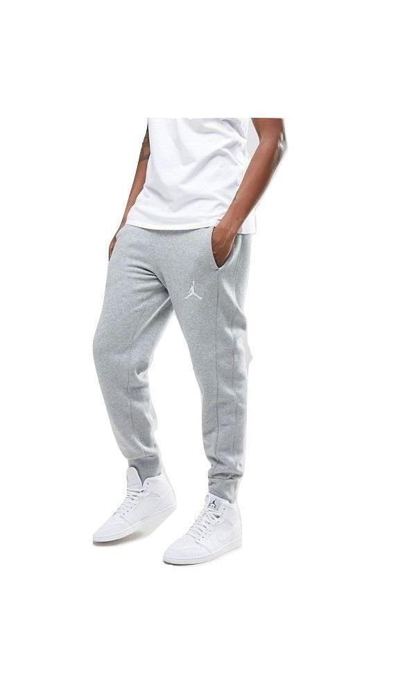 f1316b5999e919 Nike Men s Air Jordan Jumpman Flight Fleece Gray Sweatpants S M L 2XL  AA5591-063  Nike  ActivewearPants