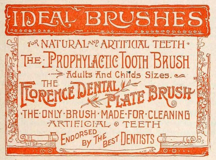 What Is That Old Fashioned Pink Powder For Brushing Teeth