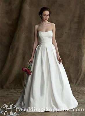 used simple wedding dress