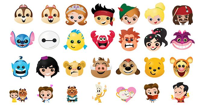 Disney Emojis Are Now Available To Download For Free On Ios And Android Feature All Your Favorite Disney Characters Disney App Disney Emoji Blitz Disney Emoji