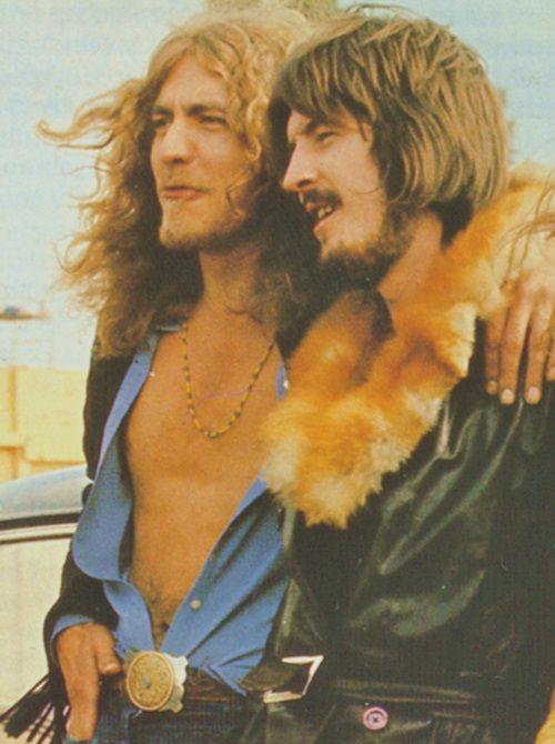 Robert Plant & John Bonham (Led Zeppelin)