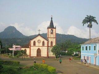 Colonial buildings São Tomé e Principé