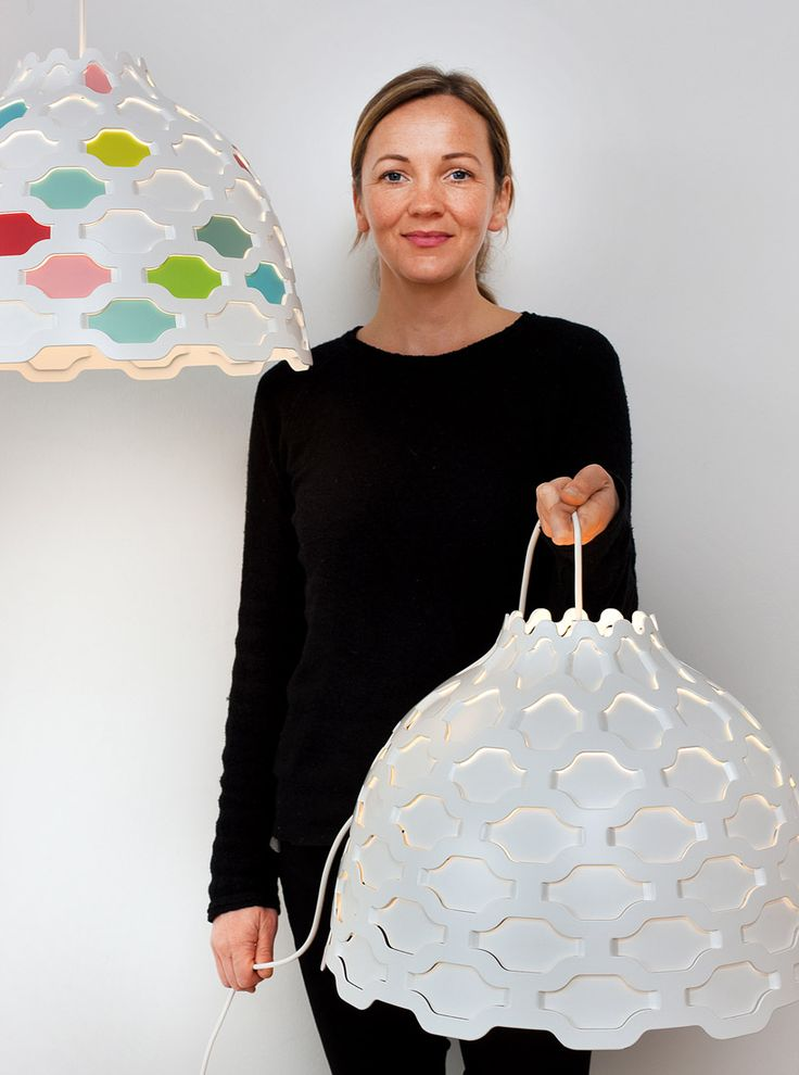 LC Shutters lamps and designer Louise Campbell