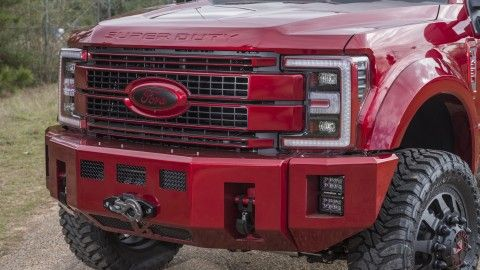 2017+ Ford Super Duty Alpha Series Front Bumper