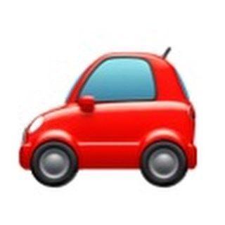 The iOS car emoji looks just like our car.