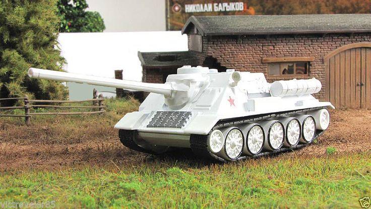 1:72 Fabbri SU-100 self-propelled artillery camouflage & mag №88 Russian Tanks #GeFabbri